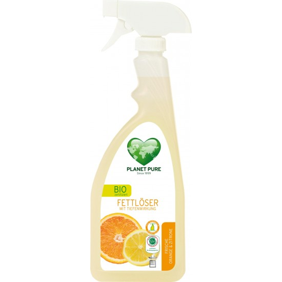 Degresant bio - portocala si lamaie - 510ml Planet Pure